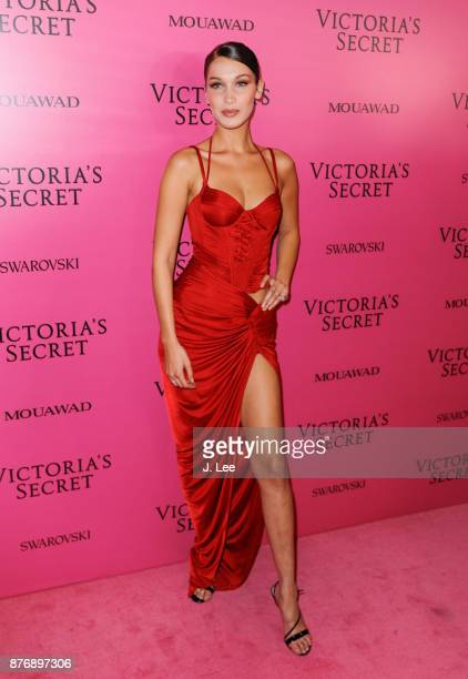 Bella Hadid at the 2017 Victoria's Secret Fashion show afterparty on November 20 2017 in Shanghai China