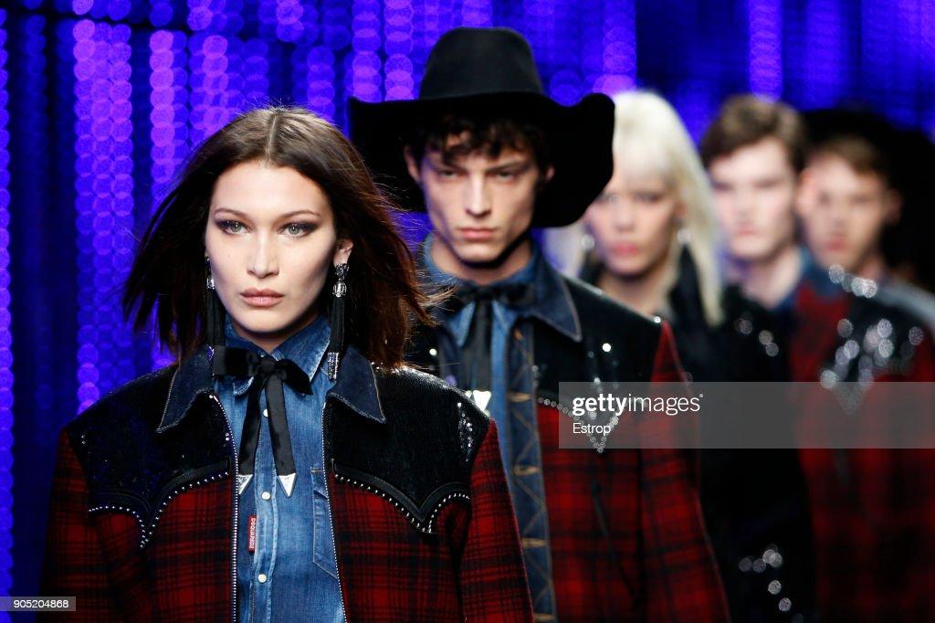 Dsquared2 - Details - Milan Men's Fashion Week FW 2018/19 : ニュース写真