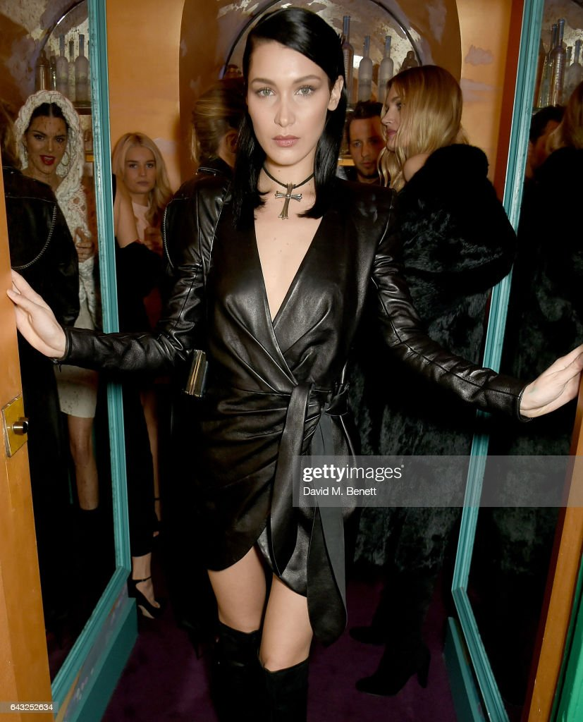 LOVE And Burberry London Fashion Week Party At Annabel's Celebrating Katie Grand And Kendall Jenner's #LOVEME17 : News Photo