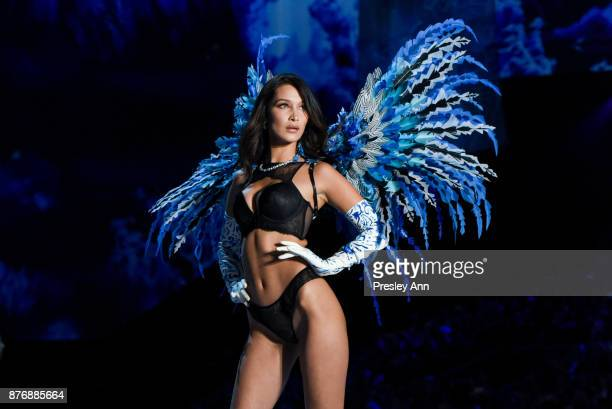 Bella Hadid attends 2017 Victoria's Secret Fashion Show In Shanghai Show at MercedesBenz Arena on November 20 2017 in Shanghai China