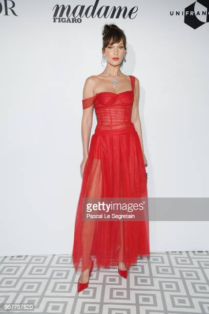 Bella Hadid attends a Dior dinner during the 71st annual Cannes Film Festival at JW Marriott on May 12 2018 in Cannes France