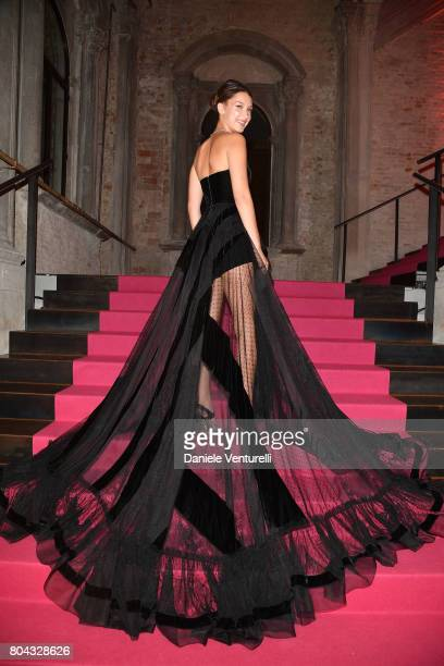 Bella Hadid attends Bvlgari Party at Scuola Grande della Misericordia on June 29 2017 in Venice Italy