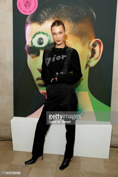 Bella Hadid attends Dior_A Magazine Curated By Kim Jones Launch Party at Two Temple Place on May 29 2019 in London England