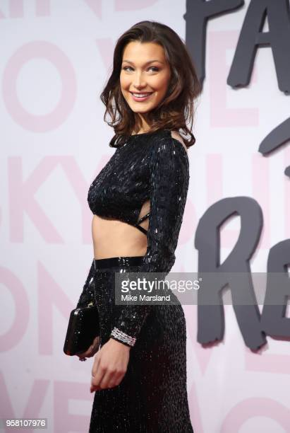 Bella Hadid attends Fashion For Relief Cannes 2018 during the 71st annual Cannes Film Festival at Aeroport Cannes Mandelieu on May 13, 2018 in...
