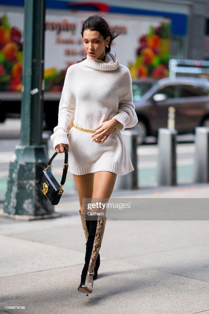Celebrity Sightings in New York City - November 3, 2018 : News Photo