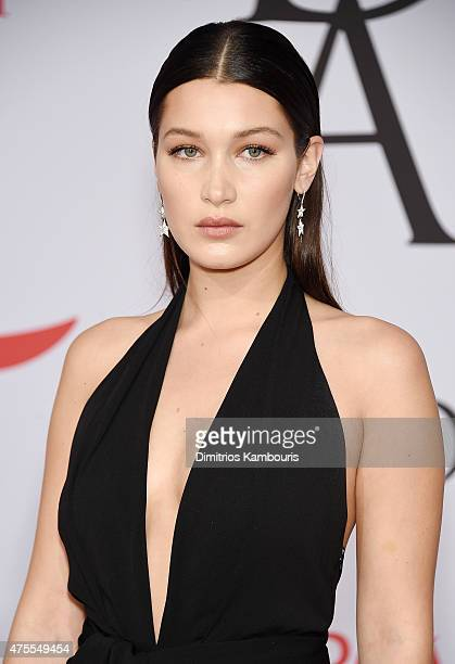 Bella Hadid attends the 2015 CFDA Fashion Awards at Alice Tully Hall at Lincoln Center on June 1 2015 in New York City