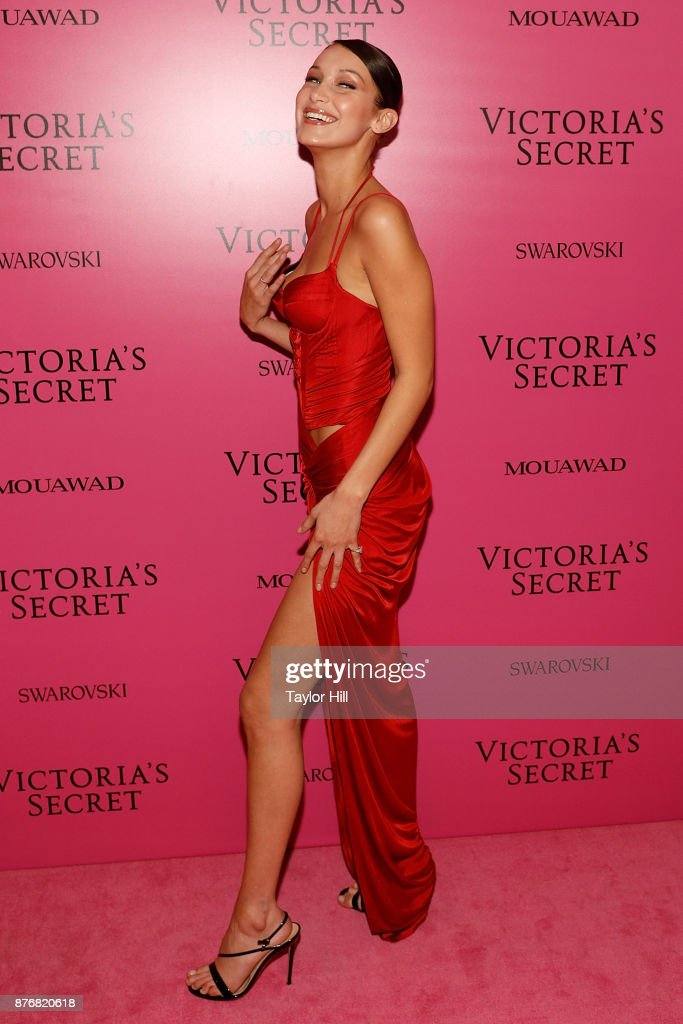 Bella Hadid attends the 2017 Victoria's Secret Fashion Show After Party on November 20, 2017 in Shanghai, China.