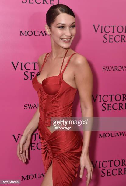 Bella Hadid attends the 2017 Victoria's Secret Fashion Show In Shanghai After Party at MercedesBenz Arena on November 20 2017 in Shanghai China