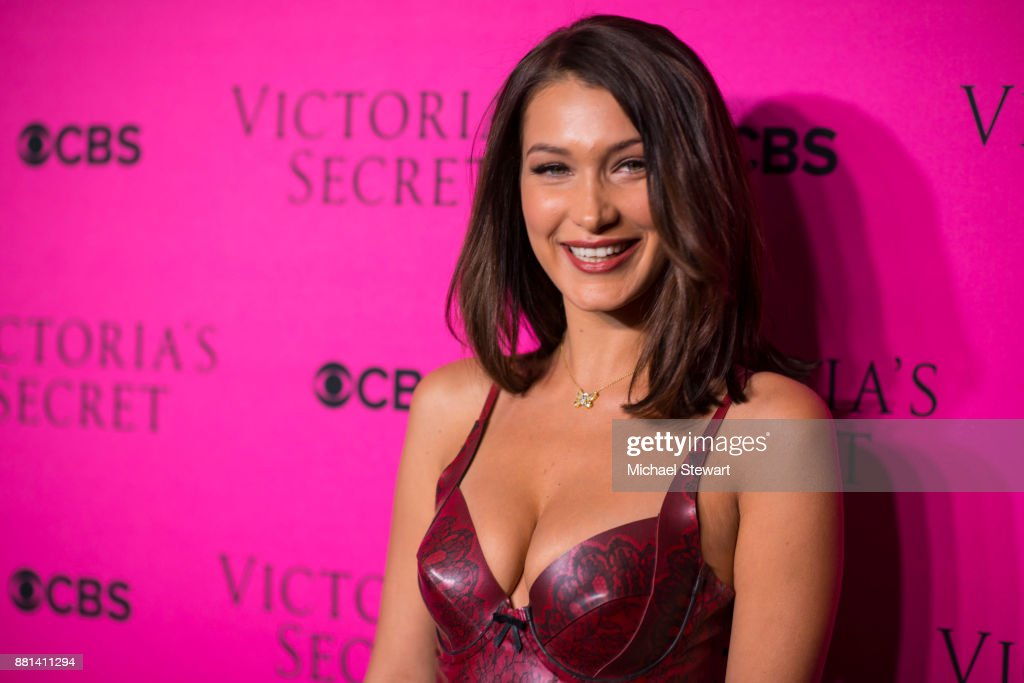 Victoria's Secret Viewing Party Pink Carpet