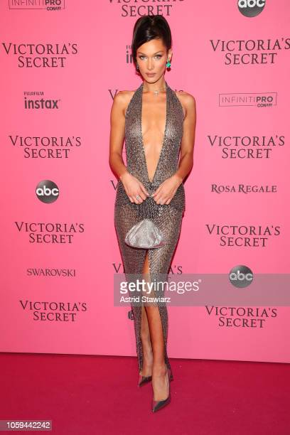 Bella Hadid attends the 2018 Victoria's Secret Fashion Show After Party on November 8 2018 in New York City