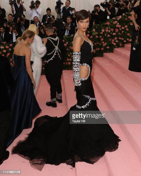 Bella Hadid attends the 2019 Met Gala celebrating Camp Notes on Fashion at The Metropolitan Museum of Art on May 6 2019 in New York City