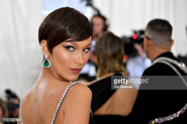 Bella Hadid attends The 2019 Met Gala Celebrating Camp Notes on Fashion at Metropolitan Museum of Art on May 06 2019 in New York City