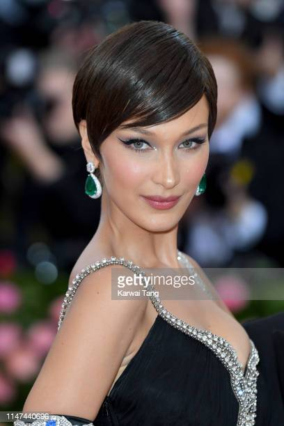 Bella Hadid attends The 2019 Met Gala Celebrating Camp Notes On Fashion at The Metropolitan Museum of Art on May 06 2019 in New York City