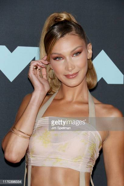 Bella Hadid attends the 2019 MTV Video Music Awards at Prudential Center on August 26 2019 in Newark New Jersey