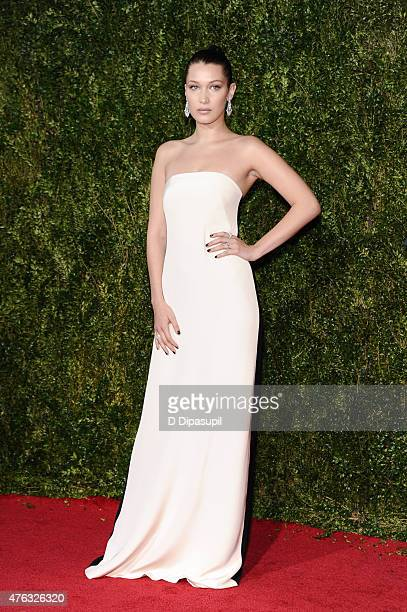 Bella Hadid attends the American Theatre Wing's 69th Annual Tony Awards at Radio City Music Hall on June 7 2015 in New York City