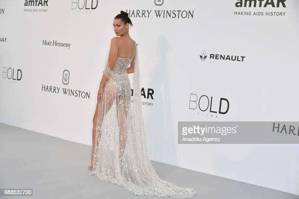 Bella Hadid attends the Amfar Gala at Hotel du CapEdenRoc in Cap d'Antibes France on May 26 2017