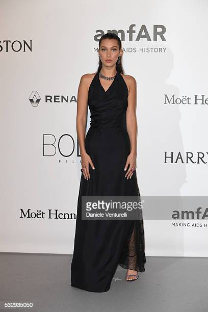 Bella Hadid attends the amfAR's 23rd Cinema Against AIDS Gala at Hotel du CapEdenRoc on May 19 2016 in Cap d'Antibes