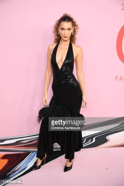 Bella Hadid attends the CFDA Fashion Awards at the Brooklyn Museum of Art on June 03 2019 in New York City