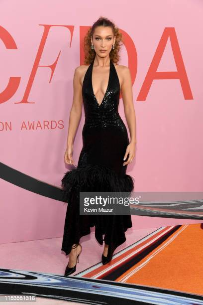 Bella Hadid attends the CFDA Fashion Awards at the Brooklyn Museum of Art on June 03, 2019 in New York City.
