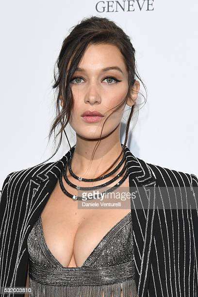 Bella Hadid attends the De Grisogono Party at the annual 69th Cannes Film Festival at Hotel du CapEdenRoc on May 17 2016 in Cap d'Antibes Côte d'Azur