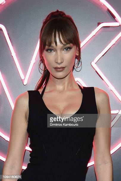 Bella Hadid attends the Jump Into Spring: MICHAEL Michael Kors Spring 2019 Launch Party at Dolby Soho on February 5, 2019 in New York City.