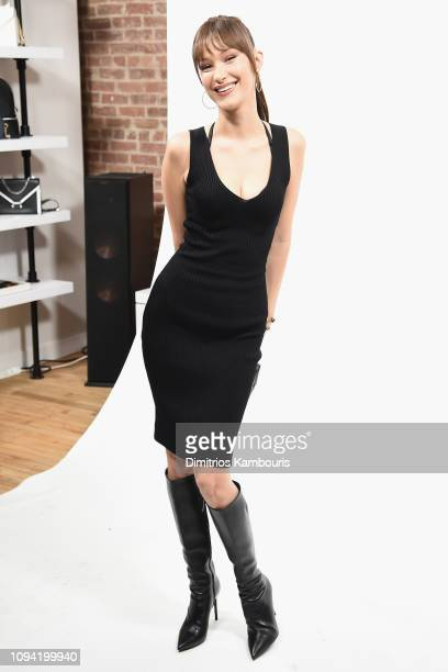 Bella Hadid attends the Jump Into Spring MICHAEL Michael Kors Spring 2019 Launch Party at Dolby Soho on February 5 2019 in New York City