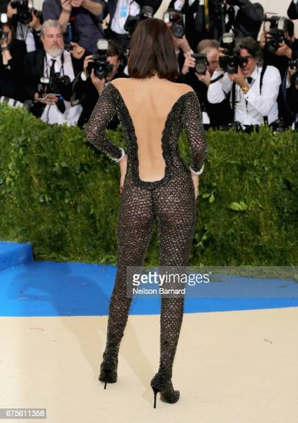 """Bella Hadid attends the """"Rei Kawakubo/Comme des Garcons: Art Of The In-Between"""" Costume Institute Gala at Metropolitan Museum of Art on May 1, 2017..."""