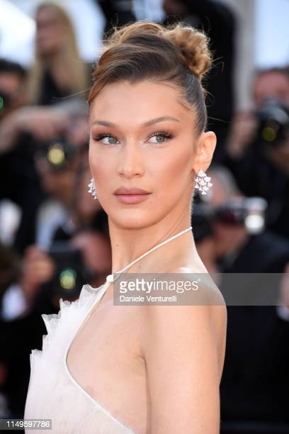 """Bella Hadid attends the """"Rocketman"""" Gala Party during the 72nd annual Cannes Film Festival on May 16, 2019 in Cannes, France."""