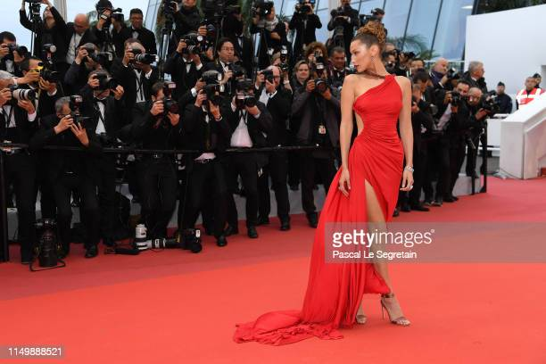 """Bella Hadid attends the screening of """"Pain And Glory """" during the 72nd annual Cannes Film Festival on May 17, 2019 in Cannes, France."""