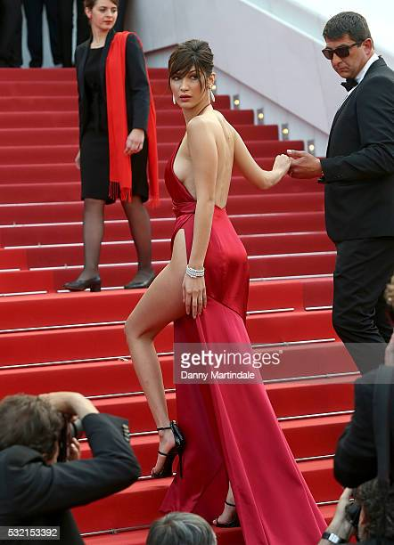 Bella Hadid attends the 'The Unknown Girl ' Photocall during the 69th annual Cannes Film Festival on May 18 2016 in Cannes France