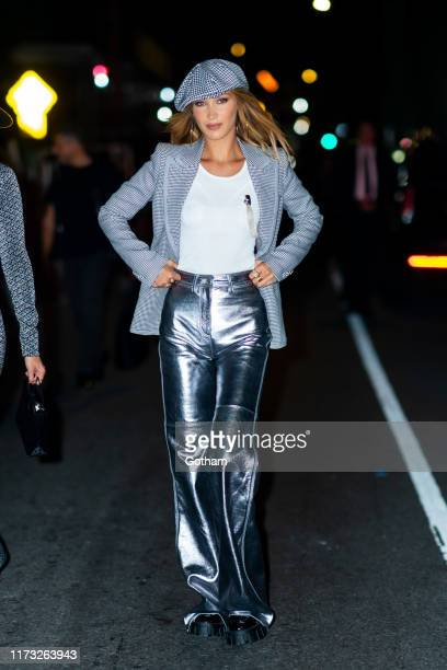Bella Hadid attends the TOMMYNOW New York Fall 2019 fashion show at The Apollo Theater on September 08, 2019 in New York City.
