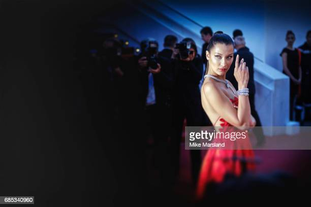 Bella Hadid during the 70th annual Cannes Film Festival at on May 19 2017 in Cannes France