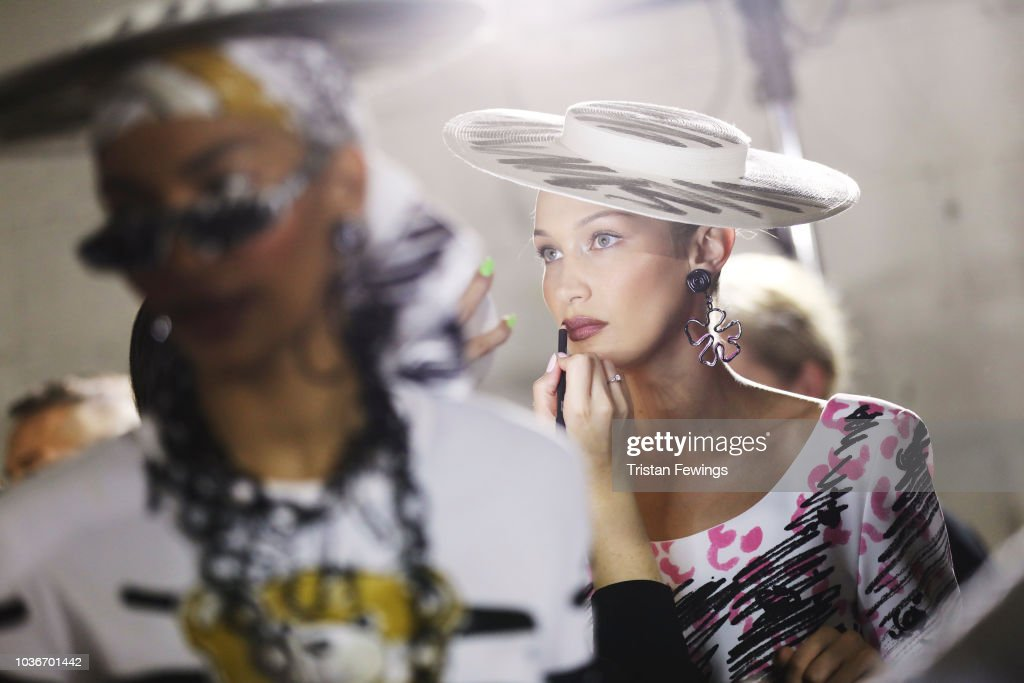 Moschino - Backstage - Milan Fashion Week SS19