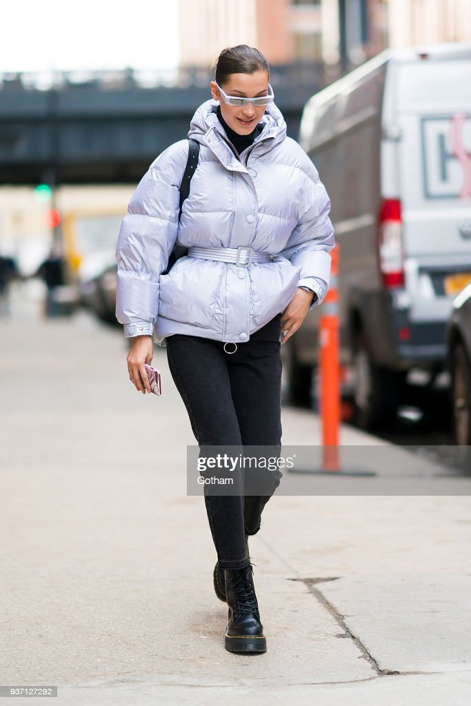 Celebrity Sightings in New York City - March 23, 2018