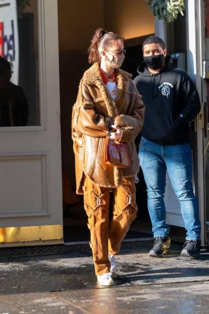 NY: Celebrity Sightings In New York City - December 21, 2020