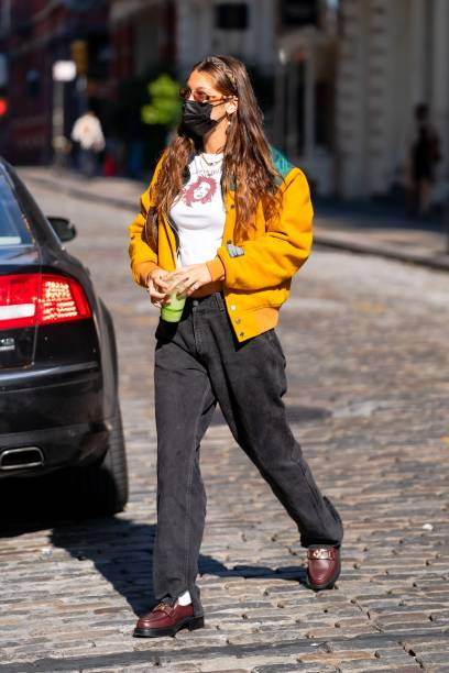 NY: Celebrity Sightings In New York City - October 20, 2020