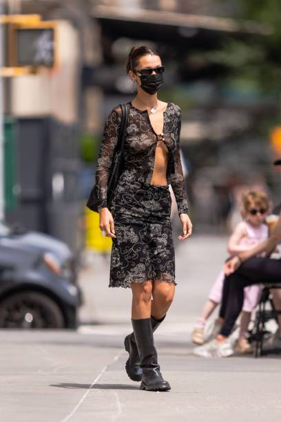 NY: Celebrity Sightings In New York City - August 01, 2021