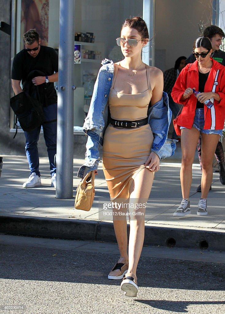 Celebrity Sightings In Los Angeles - November 10, 2016 : News Photo