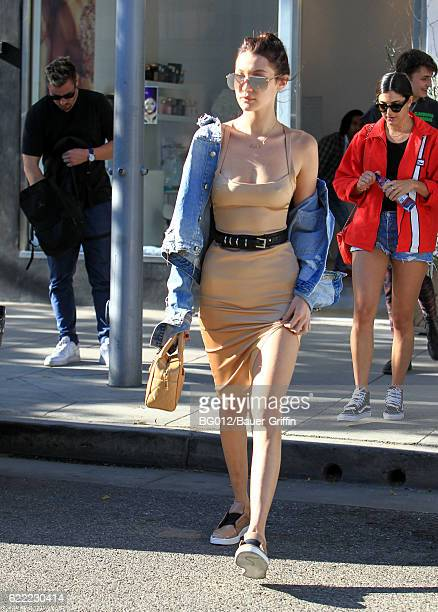 Bella Hadid is seen on November 10 2016 in Los Angeles California