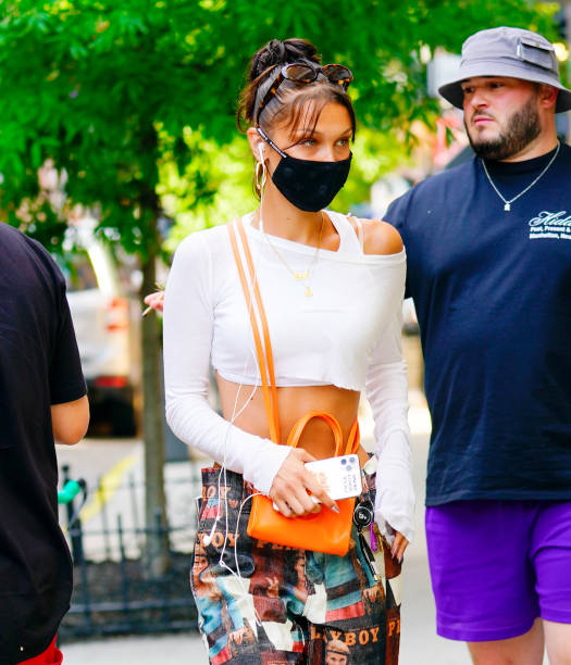 NY: Celebrity Sightings In New York City - July 02, 2020