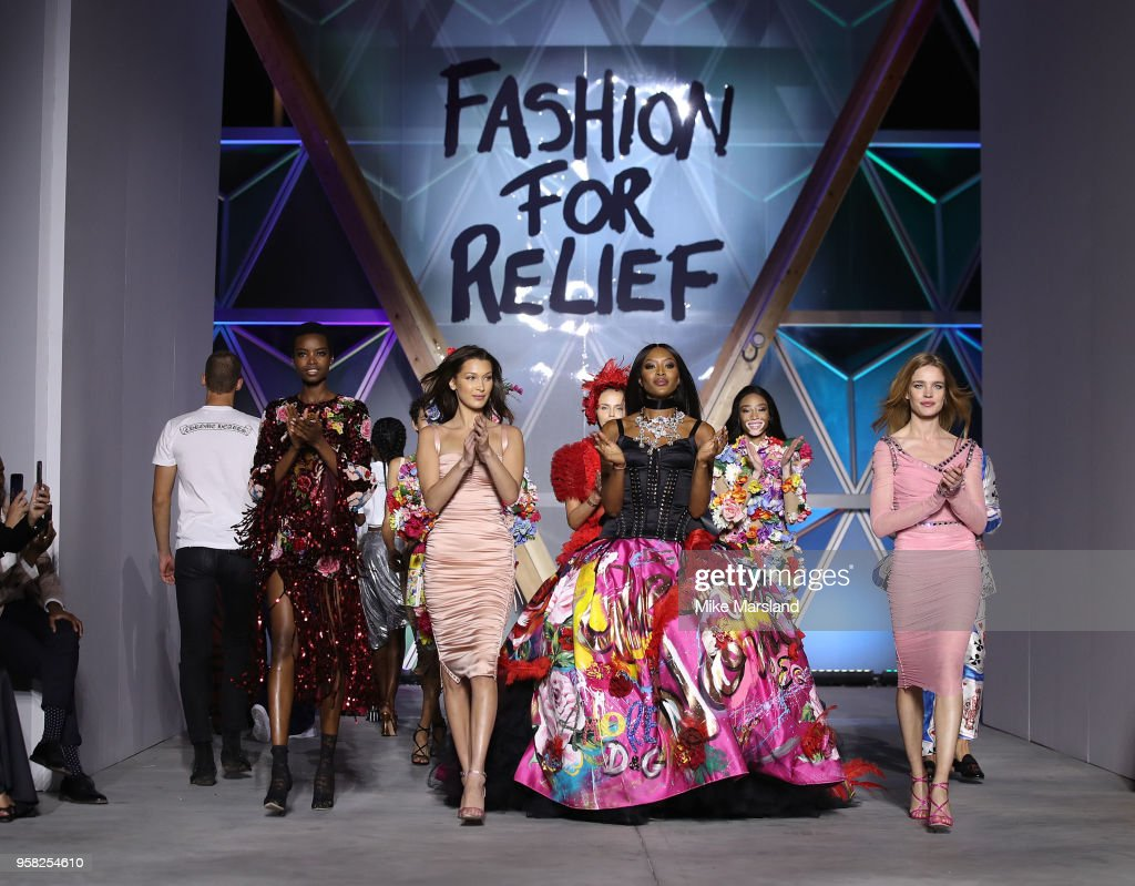 Runway - Fashion For Relief Cannes 2018 : Foto jornalística