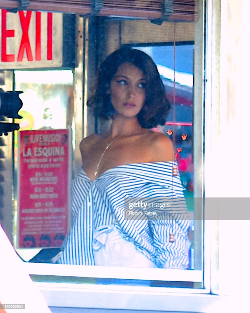Bella Hadid Seen At A Photoshoot In At A Diner In Brooklyn On News Photo Getty Images