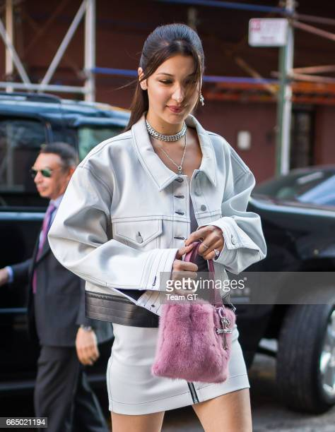 Bella Hadid seen on April 5 2017 in New York City