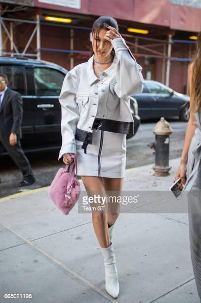 Bella Hadid seen on April 5 2017 in New York City