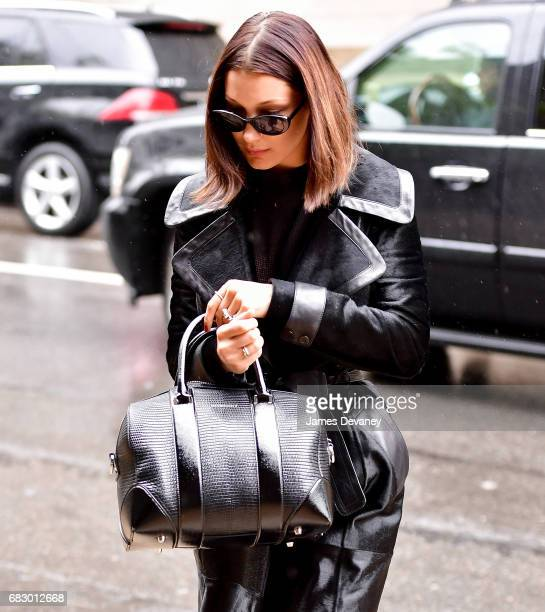 Bella Hadid seen on the streets of Brooklyn on May 13, 2017 in New York City.