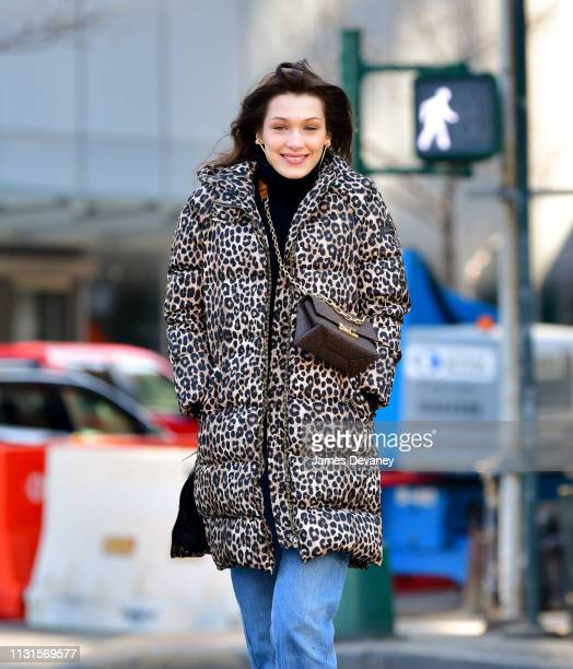 Bella Hadid seen on the streets of Manhattan on March 19 2019 in New York City