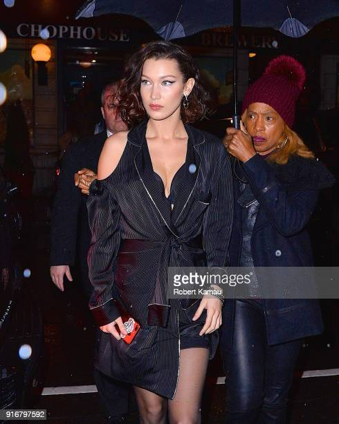 Bella Hadid seen out and about in Manhattan on February 10 2018 in New York City
