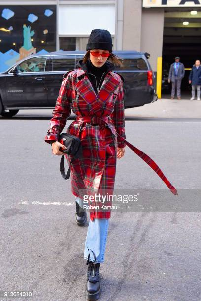 Bella Hadid seen out and about in SoHo Manhattan on January 31 2018 in New York City