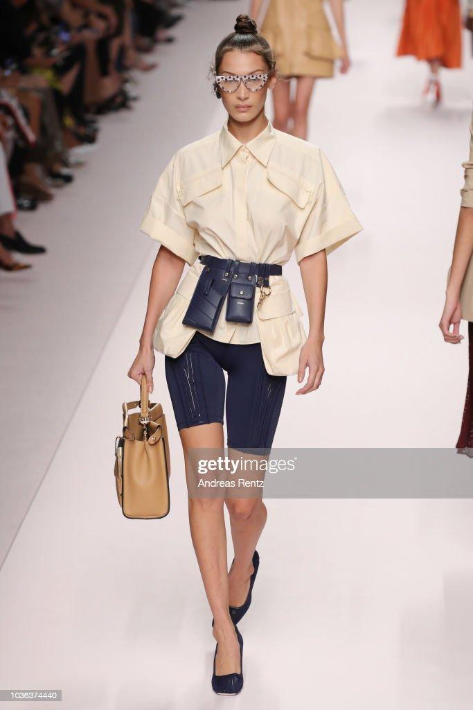 Fendi - Runway - Milan Fashion Week Spring/Summer 2019 : News Photo