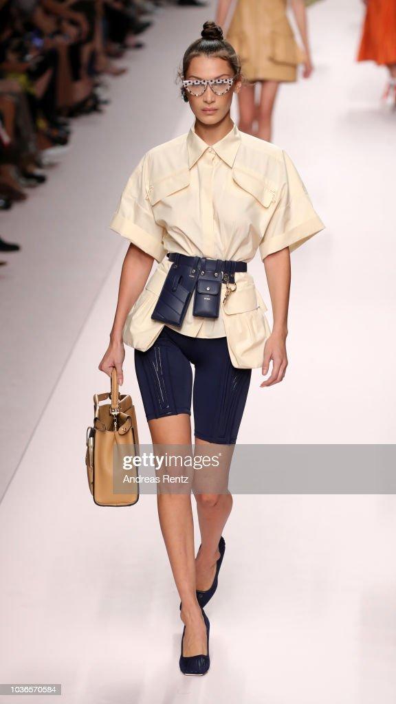 Fendi - Runway - Milan Fashion Week Spring/Summer 2019 : Foto jornalística